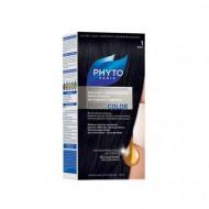 Краска для волос PHYTOSOLBA Phyto Color 1 Черный: фото