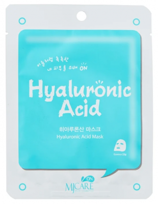 Маска тканевая с гиалуроновой кислотой Mijin MJ on Hyaluronic Acid mask pack 22гр: фото