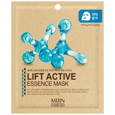 Маска для лица тканевая лифтинг эффект Mijin LIFT ACTIVE ESSENCE MASK 25гр: фото