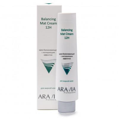 Крем для лица балансирующий с матирующим эффектом ARAVIA Professional 100мл: фото