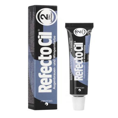 Краска для ресниц REFECTOCIL №2 черная-синяя: фото