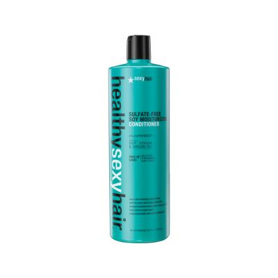 Кондиционер соевый увлажняющий Sexy Hair Sulfate free soy moisturizing conditioner 1000мл: фото
