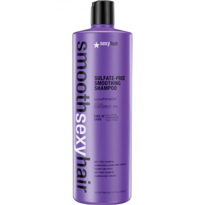 Шампунь разглаживающий SEXY HAIR Smooth Shampoo 1000мл: фото