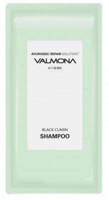 Набор для волос: Шампунь АЮРВЕДА EVAS VALMONA Ayurvedic Scalp Solution Black Cumin Shampoo, 10мл*50 шт: фото