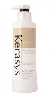 Кондиционер укрепляющий для тонких и ослабленных волос KeraSys 400 г: фото