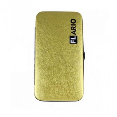 Кейс магнитный для пинцетов Flario золотой: фото