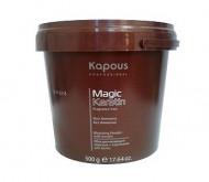 Пудра осветляющая в микрогранулах non ammonia KAPOUS Magic Keratin 500мл: фото