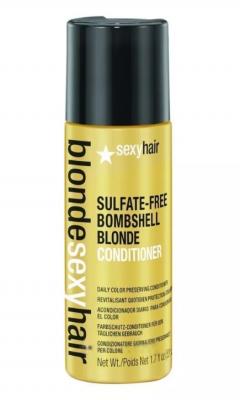 Кондиционер для сохранения цвета блонд SEXY HAIR Bombshell Blonde Conditioner 50мл: фото