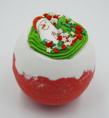 Бомбочка для ванны BOOM SHOP cosmetics Дух Рождества 250 г: фото